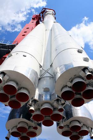 vostok: the three-stage booster Vostok
