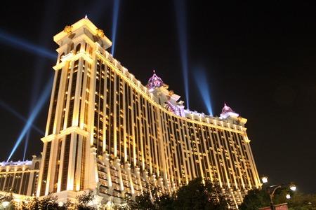 MACAU, CHINA - JANUARY 18, 2014: Galaxy Macau is entertainment complex located on the Cotai Strip on January 18, 2014 in Macau.