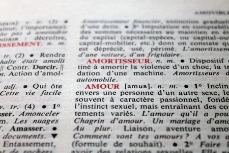 reciprocity: the word love in the French dictionary