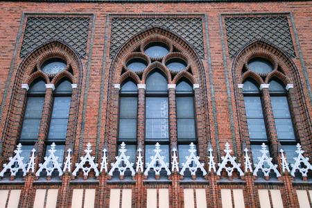 big windows: big windows in the Gothic style