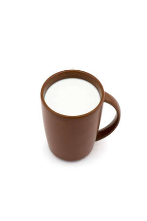 Isolated photo of cup of milk Stock Photo - 2766738