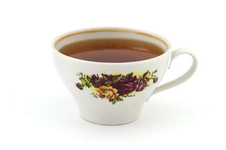 Isolated photo of a cap of tea