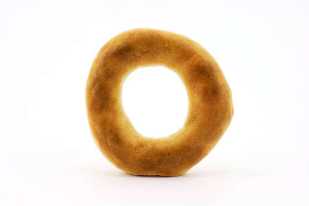 Isolated photo of a fresh russian bagel