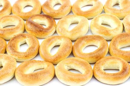 boublik: Isolated photo of some ring-shaped cracknels (sooshkas)
