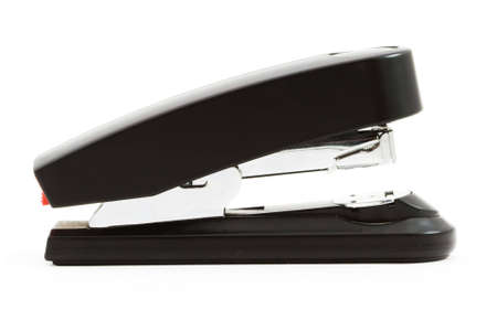 Isolated photo of a big red stapler