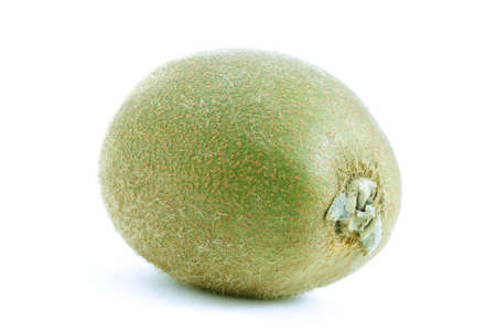 Isolated macro photo of a fresh kiwi