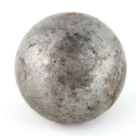 old metal sphere