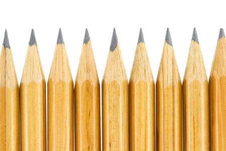 some wooden pencil