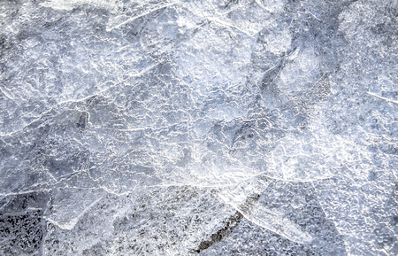 Melted ice as an abstract background