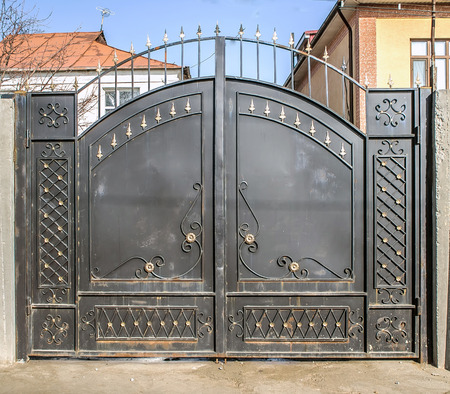 Beautiful Forged Metal Gates