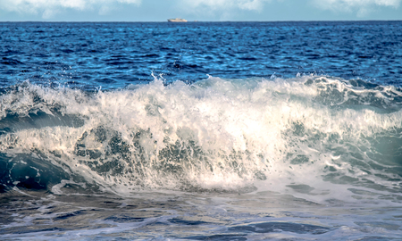 Sea waves as background Banque d'images