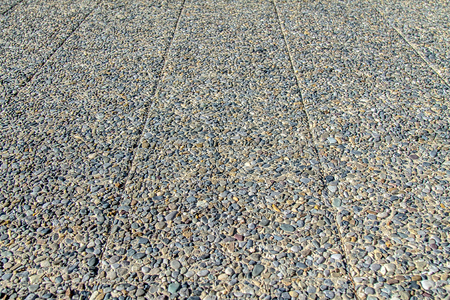 Paving slabs from pebble