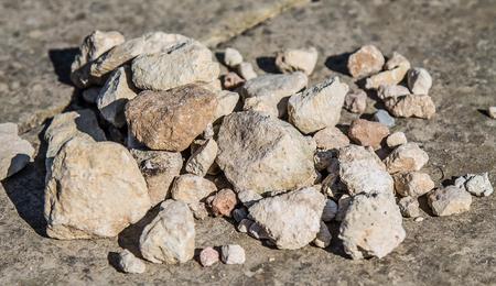 Rock stones in bulk