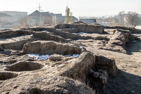 Archeological excavations in the city