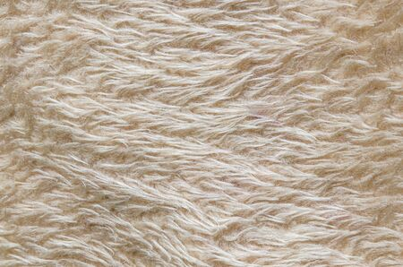 Dyed artificial wool as an abstract background