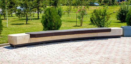 Parc de la ville Big Long Bench