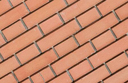 Brick masonry as a background close-up