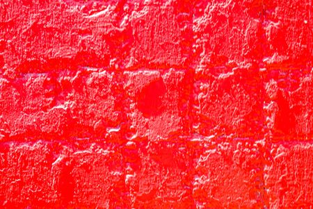 Old concrete surface painted with bright paint as a background