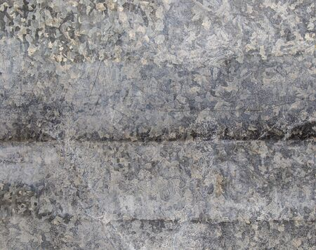 Old galvanized iron as background