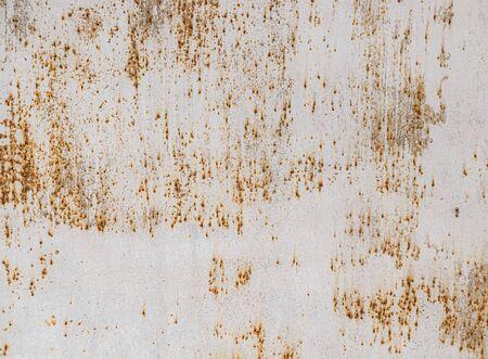 Superficie de metal pintado sucio como fondo abstracto para el diseño. Foto de archivo
