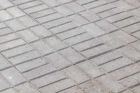 Gray paving tiles as background Banque d'images