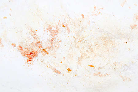 Paper in blood after cutting meat as a background.