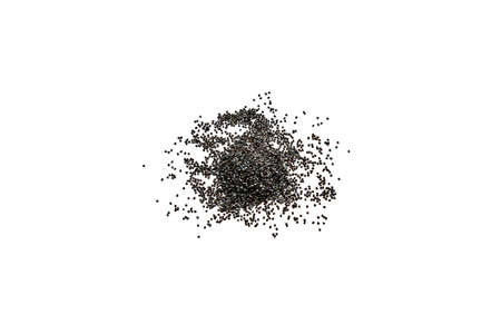 Culinary poppy seeds on a white background. 写真素材 - 155722463