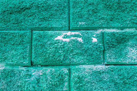 Artificial concrete stone wall as background 写真素材