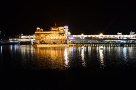 Golden Temple Amritsar India Editorial
