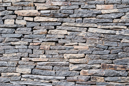 Gray stone wall background, texture