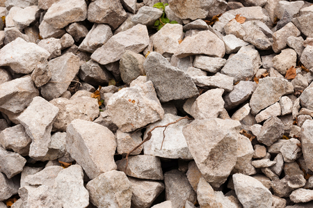 Background of brown rocks