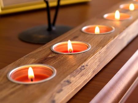 Romantic decorative candles