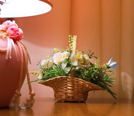 Interior composition with flowers