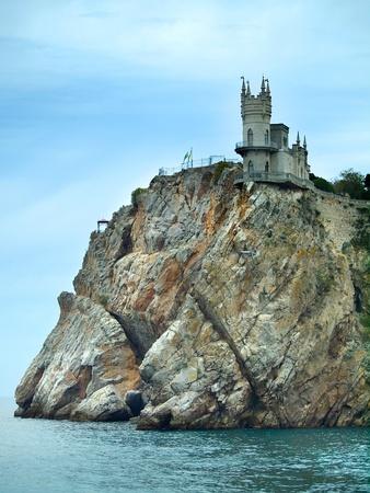 Swallow Nest old castle in Yalta, Crimea
