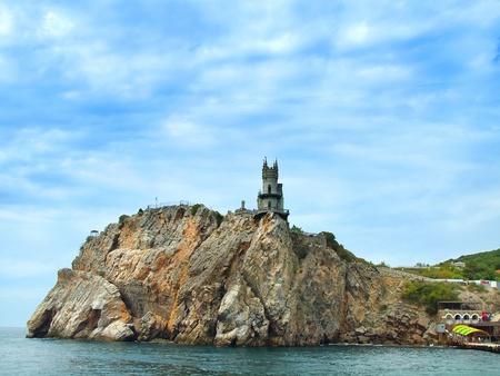 Swallow Nest castle in Yalta, Crimea