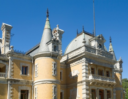 Massandra Palace in Yalta, Ukraine