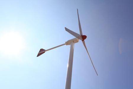 wind turbine: Re-newable Energy - Wind Turbine Stock Photo