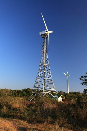 Re-newable Energy - Wind Turbine Stock Photo - 8776494