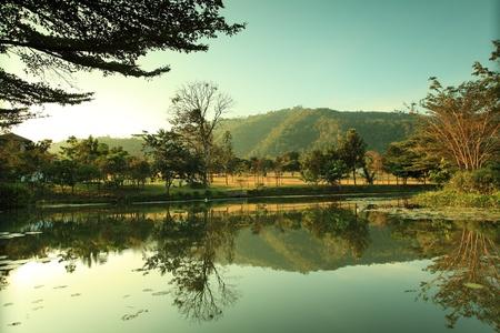 yai: Lago a Koa Yai - Thailandia Archivio Fotografico