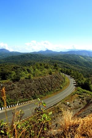 doi: Doi Inthanon - Thailand Stock Photo