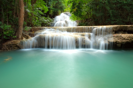 Waterfall - Thailand - Kanjanaburi - Hau Mae Kamin photo