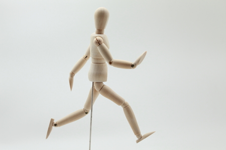 Wooden Model - Runner photo