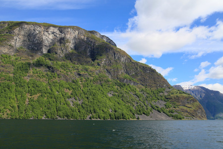 sognefjord: Mountains in the Sognefjord