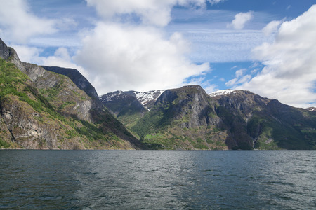 sognefjord: Mountains on the Sognefjord