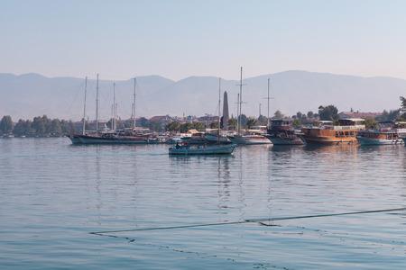 fethiye: Yacht harbor, Fethiye, Turkey