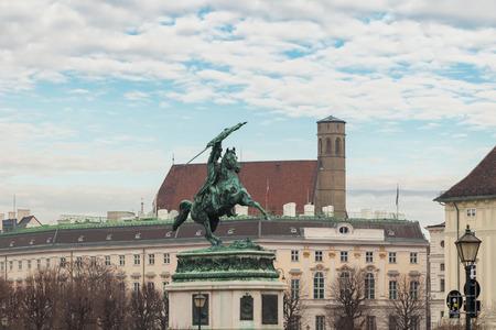 archduke: Statue of Archduke Charles, Heldenplatz, Vienna