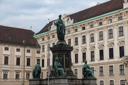 hofburg: Hofburg Palace, Monument � l'empereur Fran�ois Ier, Vienne