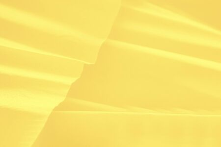 Light yellow gradient background with paper waves