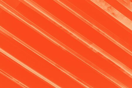 Vivid orange lush lava color abstract background with yellow stripes