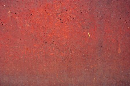 Abstract grunge background. Old rusty metal. Red colors.